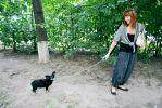 Пропала маленькая черная собачка